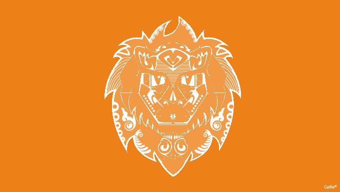 Geroges_lion_Curlie